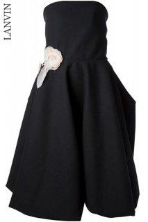 9号【レンタルドレス】Product code:17007 | LANVIN 2013 Flower applique Runway dress(ランバン フラワーアップリケドレス)