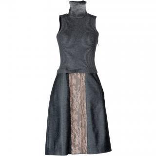 9号(7〜11号)■レンタルドレス■Product code:00019 | VALENTINO 2012 Lace × wool dress(ヴァレンティノ レース×ウールドレス)