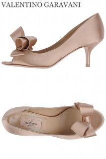 23.0cm【レンタルシューズ】Product code:00052 | VALENTINO GARAVANI Silk satin Couture Bow Pump(ヴァレンティノ リボンパンプス)