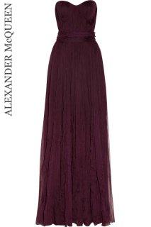 7号(5〜7号)【レンタルドレス】Product code:01031 | ALEXANDER McQUEEN silk-chiffon gown(アレキサンダーマックイーン ドレス)