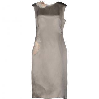 11号■レンタルドレス■Product code:17006 | LANVIN 2013 Flower applique Runway dress(ランバン フラワーアップリケドレス)