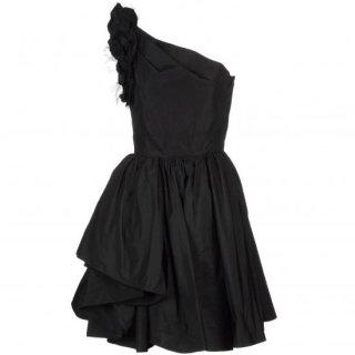 13号(7〜13号)■レンタルドレス■Product code:00044 | RED VALENTINO Raffle tulle one-shoulder dress(ヴァレンティノ ドレス)