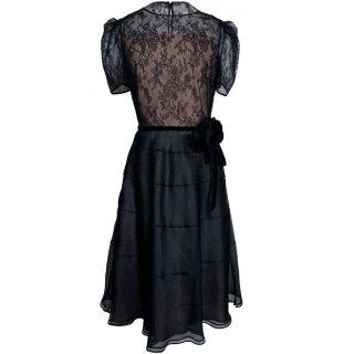 9号(7〜9号)■レンタルドレス■Product code:00061 | VALENTINO 2012  Flower belt with lace dress(ヴァレンティノ ドレス)