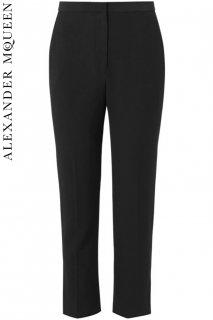 3号【レンタルドレス】PRD CODE:01043 | ALEXANDER McQUEEN Leaf-Crepe Tailored Trousers(アレキサンダー・マックイーンパンツ)