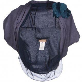 7〜9号■レンタルドレス■Product code:17009 | LANVIN Flower corsage cashmere bolero(ランバン ボレロ)