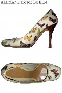 23.0,24.0cm【レンタルシューズ】Product code:01007 | ALEXANDER McQUEEN Butterfly Shoes(アレキサンダーマックイーン シューズ)