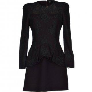 9号■レンタルドレス■Product code:01038 | ALEXANDER McQUEEN Dark purple dress(アレキサンダーマックイーン ミニスカートドレス)