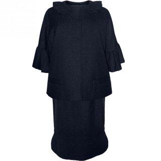 7,11〜13号■レンタルドレス■Product code:00022+00045 | VALENTINO ROMA Navy set up suit(ヴァレンティノ ローマ スーツ)