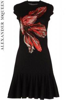 7号【レンタルドレス】PRD CODE::01030 | ALEXANDER McQUEEN Tulip Jacquard Knit Dress(アレキサンダー・マックイーン ドレス)