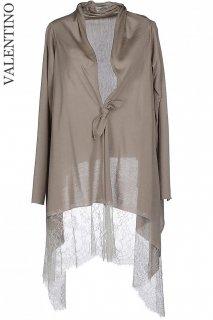 9-11号【レンタルドレス】Product code:00066 | VALENTINO Lace & Wool Knit Bolero Cardigan(ヴァレンティノ ボレロ カーディガン)