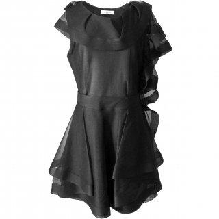9〜13号■レンタルドレス■Product code:00070 | VALENTINO 2010 Silk tulle ruffle dress(ヴァレンティノ ドレス)