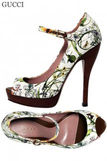 24.5cm【レンタルシューズ】Product code:02029   GUCCI Flora Collection Shoes(グッチ フローラ シューズ)