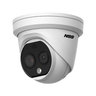 非接触サーモグラフィー ドーム型カメラDS-2TD1217B-6/PAS    高機能搭載モデル日本仕様