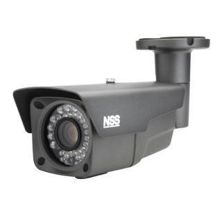 NSC980S 48万画素防水暗視バリフォーカルカメラ長距離監視向き