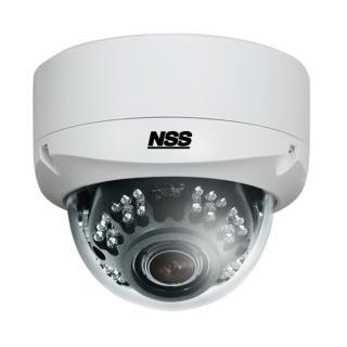 NSC-AHD933 AHD防水暗視バリフォーカルドームカメラ 130万画素
