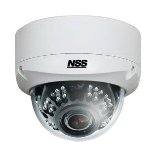 NSC-AHD933-F AHD Full HD 防水暗視バリフォーカルドーム型カメラ 200万画素
