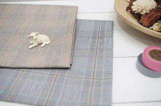 綾織りチェック