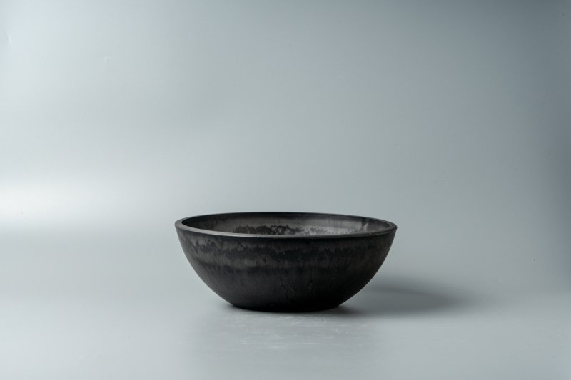 Bowl Plastic Pot [Low] 20.3cm×7.3cm