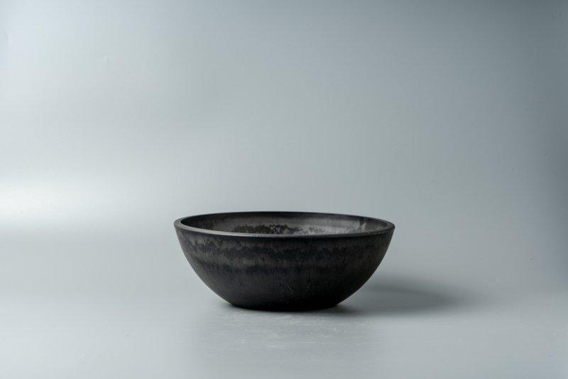 Bowl Plastic Pot [Low] 20.3cm×7.3cm