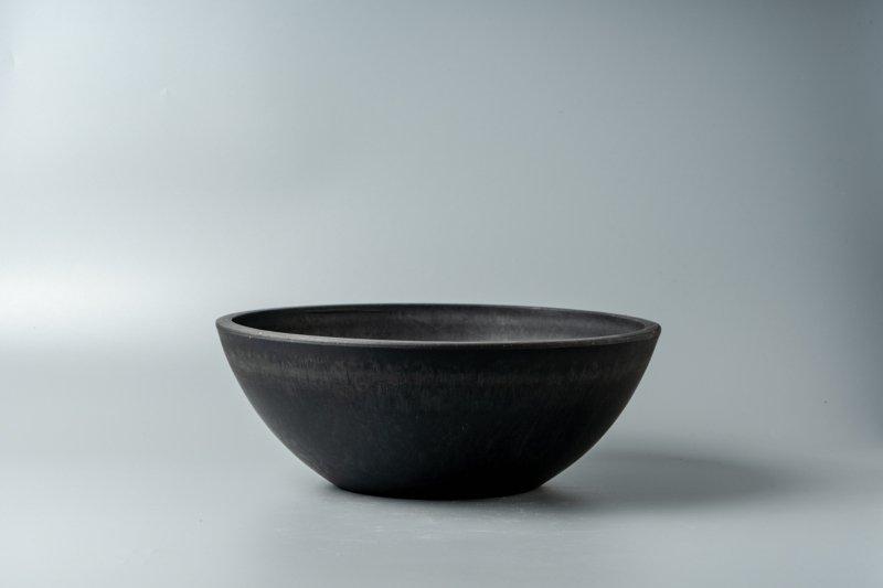 Bowl Plastic Pot [Low] 25.4cm×9.2cm
