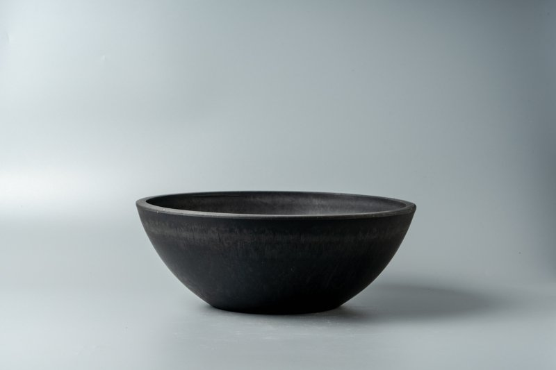 Bowl Plastic Pot [Low] 25.4cm×9.2cm