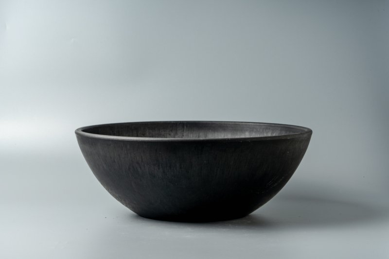 Bowl Plastic Pot【Low】30.5cm×11cm