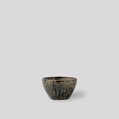 "[SHO-DO] Vintage green bowl ""S"""