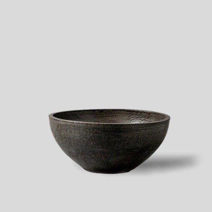 """[SHO-DO] Vintage black bowl """"L"""""""