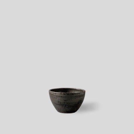 """[SHO-DO] Vintage black bowl """"S"""""""