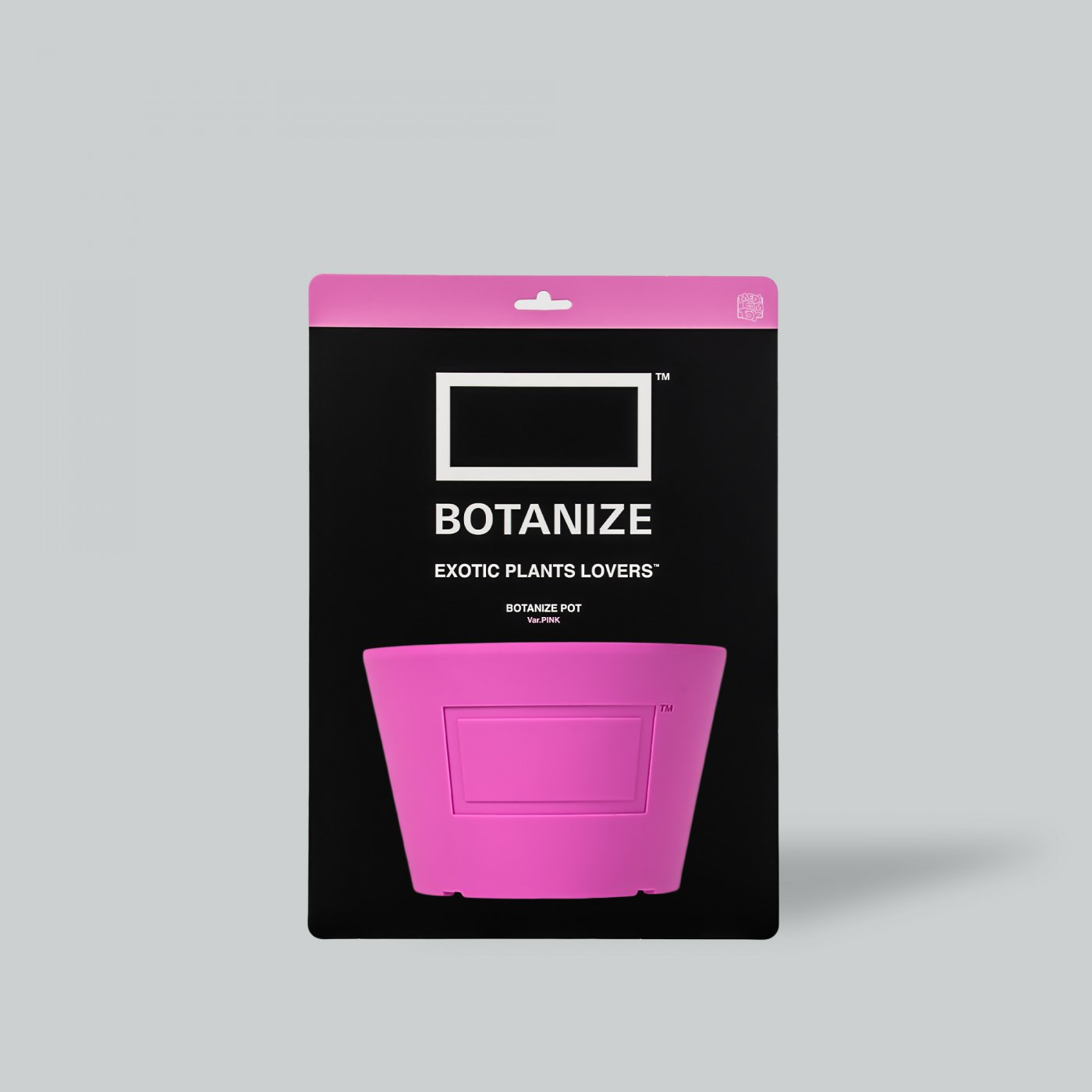 MEDICOM TOY × BOTANIZE  Pot  PINK