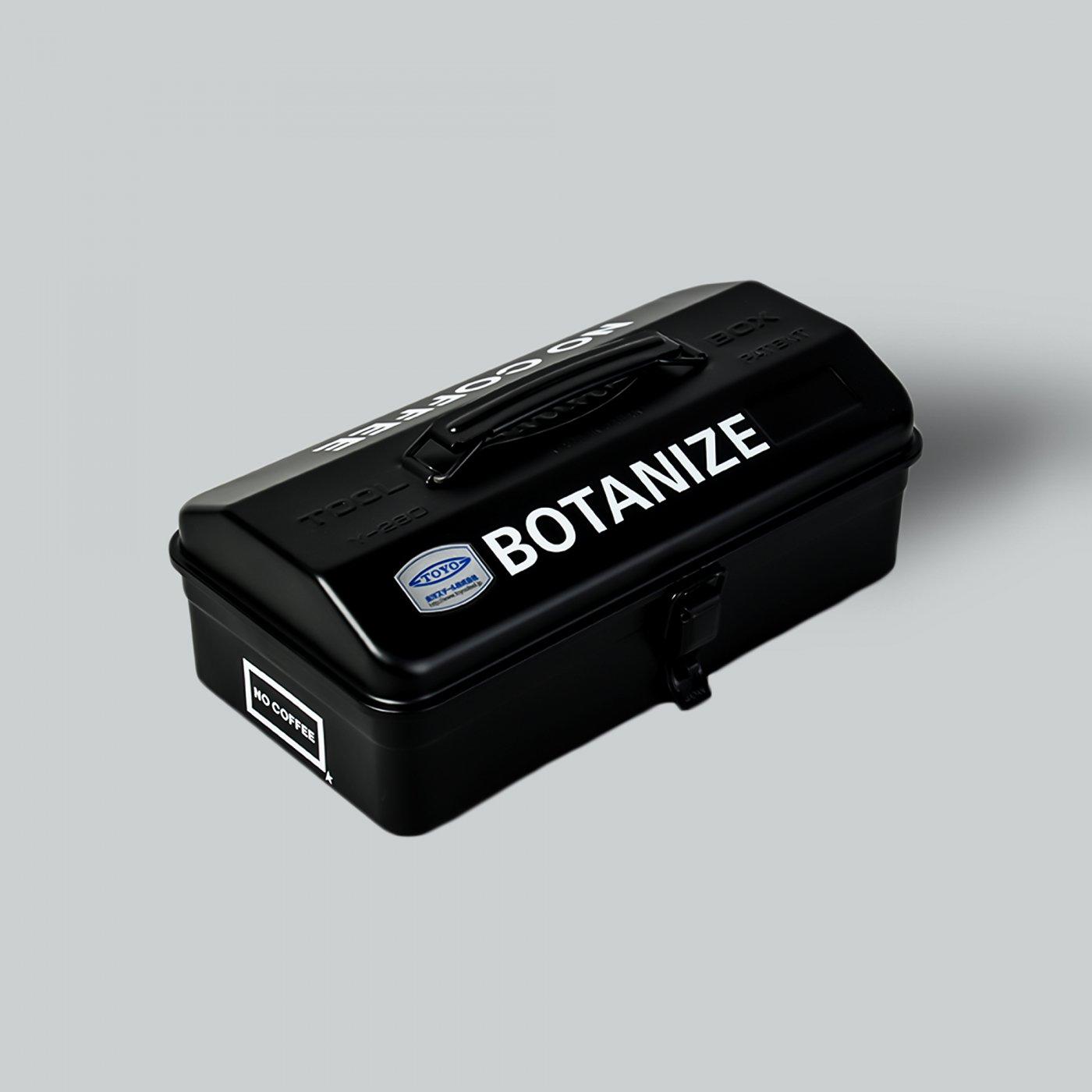 NO COFFEE × BOTANIZE × FIRSTORDER ツールボックス BLACK