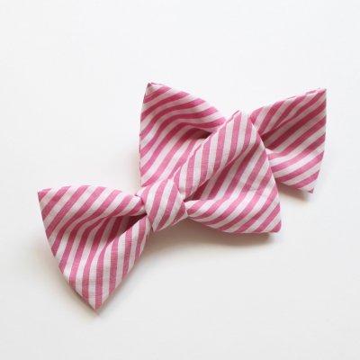 【親子セット】ストライプ pink