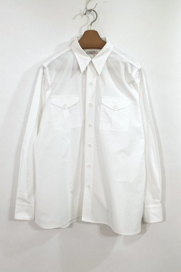 <img class='new_mark_img1' src='//img.shop-pro.jp/img/new/icons47.gif' style='border:none;display:inline;margin:0px;padding:0px;width:auto;' />[50%OFF] WORK SHIRT(WHITE)