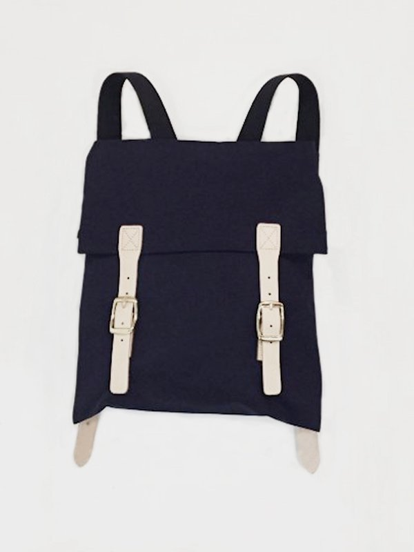 [30%OFF] cross canvas / CANVAS BACKPACK(NAVY)