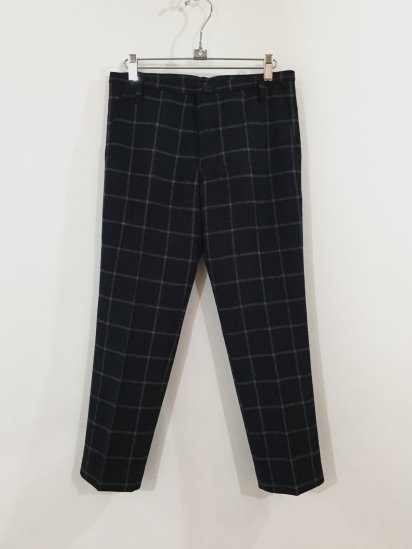 TAILORED PANTS(NAVY CHECK)