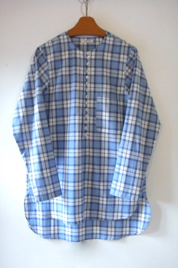 LONG SLEEVES MOROCCAN (BLUE CHECK )