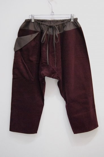 <img class='new_mark_img1' src='//img.shop-pro.jp/img/new/icons20.gif' style='border:none;display:inline;margin:0px;padding:0px;width:auto;' />[50%OFF] TRIBE PANTS(WINE)