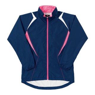 Ladies ウィンドウォーマーシャツ(ネイビー) XLW6386