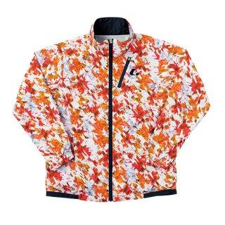 Ladies ウィンドウォーマーシャツ(オレンジ) XLW6352