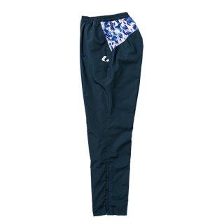 Ladies ウィンドウォーマーパンツ(ネイビー×ブルー) XLW7206