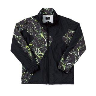 Uni ウィンドウォーマーシャツ(ブラック) XLW4849