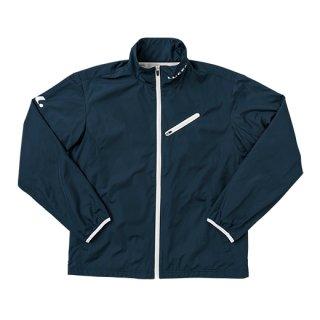 Uni ウィンドウォーマーシャツ(ネイビー×ホワイト) XLW4766