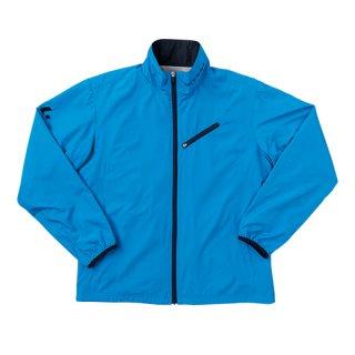 Uni ウィンドウォーマーシャツ(ブルー×ネイビー) XLW4767