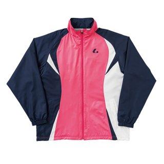 Uni ウォーマーシャツ(ピンク×ネイビー) XLW4791