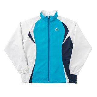 Uni ウォーマーシャツ(ターコイズ×ホワイト) XLW4797