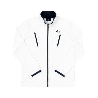 Ladies ウォームアップシャツ(ホワイト) XLW6370