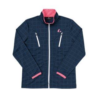 Ladies ウォームアップシャツ(ネイビー) XLW6376