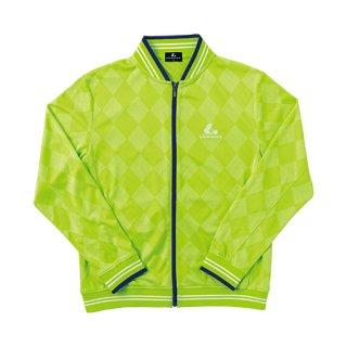 Uni サマーウォームアップシャツ(ライム) XLW4735