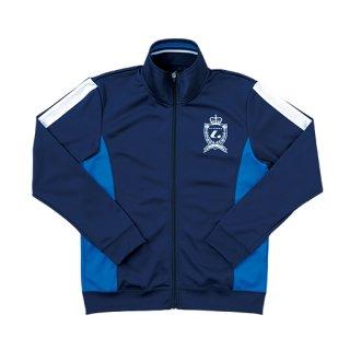 Ladies ウォームアップシャツ(ネイビー) XLW6326