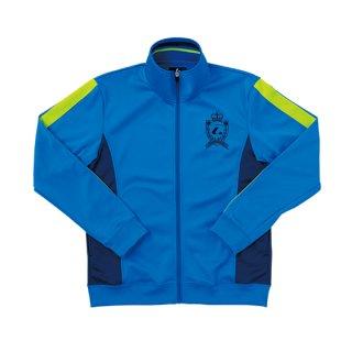 Ladies ウォームアップシャツ(ブルー) XLW6327